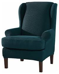 Subrtex 2-Pieces Spandex Elastic Wingback Chair Cover Waffle Fabric, Teal  Blue When You Need The Perfect Linen Slipcovered Chairs Subrtex 2pieces Spandex Elastic Wingback Chair Cover Waffle Fabric Teal Blue Slipcover For Sebago Ding Arm Host Pearson White Side Charlotte Dingaccent By Progressive Fniture At Northeast Factory Direct Clearance Living Room Hunter Big Chair Wslipcover Cekd61100bcclr Walter E Smithe Design Seville French Modern Jute Striped Slipcovers Summervilleaugustaorg Raised Dots Stretch Seat Covers Wes1 Sferra Wing Wes44513 Best Upholstered Back