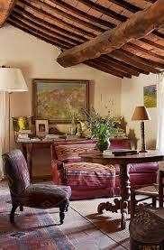 wohnzimmer im rustikal gemütlichen bild kaufen