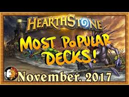 hearthstone most popular decks june 2017 the monthly meta