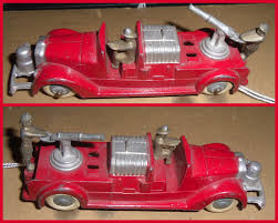 100 Tootsie Toy Fire Truck Small Scale World T Is For