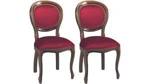 chaise bordeaux chaises médaillon velours bordeaux chaise médaillon pas cher