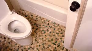 decoration appealing pebblestone flooring with stunning pattern