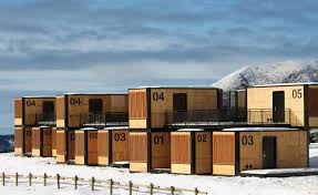 100 Sea Container Accommodation Orato Designs Nomadic Hotel That Can Be Installed In Half