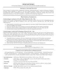 Technical Support Resume Fancy Tech For Your Ideas With It Format Experienced Ideal