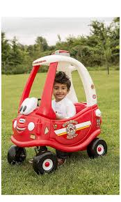 100 Little Tikes Classic Pickup Truck Ready Stock Ride Rescue Cozy Coupe Car