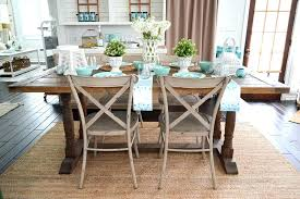 Farmhouse Table Decor Ideas Summer Farm Decorating Dining