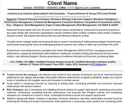 Resume Sample For Mid Level Experienced Professionals