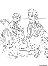 Frozen Coloring Pages Printable And Book To Print For Free Find More Online Kids Adults Of