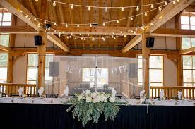 Head Table From A Rustic Chic Mountain Wedding On Karas Party Ideas
