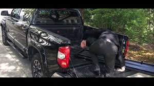 100 Track System For Truck Installation TriFold Tonneau Cover With YouTube