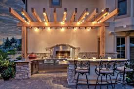 Large Size Of Kitchenoutdoor Kitchen Lighting Home Design Ideas And Pictures Light Over Bar