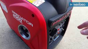 Watts Floor Drain Extension by Harbor Freight Predator 2000 Watt Inverter Generator Part 1
