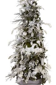 Silver Tip Christmas Tree Artificial by 176 Best Christmas Trees White Silver Gold Images On Pinterest