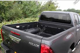 Armadillo Bed Liner by New Toyota Hilux Load Bed Liner
