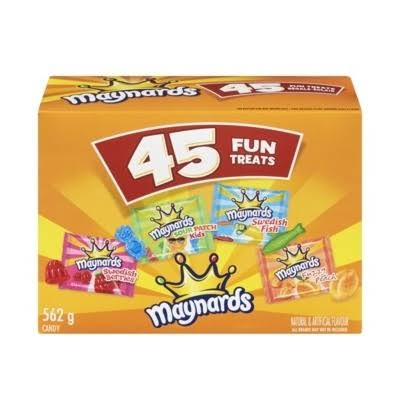 Maynards Halloween Candy, 45ct, 562g, Imported from Canada}