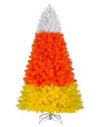 Unlit Artificial Christmas Trees Made In Usa by Colossal Candy Corn Christmas Tree Treetopia