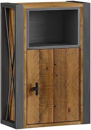 woodkings bad hängeschrank detroit holz metall mix recycelte pinie industrial möbel design badmöbel