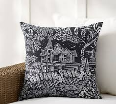 Spooky House Print Indoor/Outdoor Pillow | Pottery Barn | Projects ... Sleek Rolled Arm Small Living Room Fniture 2 Removable Back 7 Ways To Decorate With White Totes Bubble Umbrella Contemporary Outdoor Cushions And Pillows By Pottery Barn Pillow Bright Colors Stripes Polka Sunbrella Saratoga Inoutdoor 12x18 Ebay The Best Of Bed And Bath Ideas New Of Gallery Katrea Print Cushion Deck Pinterest Decking Pergola Fire Pit Sunny Side Up Blog Snowflake In The Air Inoutdoor Ca Spooky House Projects
