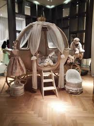 european luxury tale style pumpkin shape crib