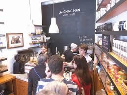 Laughing Man Coffee Tea