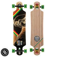 100 Drop Through Longboard Trucks Sector 9 One Love Complete Bamboo
