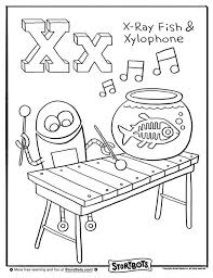 X Marks The Spot For This Coloring Sheet