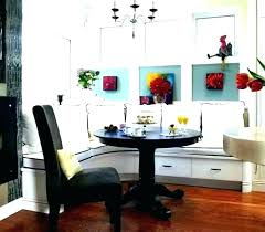 Dining Room Booth Seating Corner Table