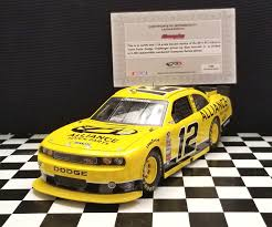 2011 Sam Hornish Jr. #12 Alliance Truck Parts Dodge Challenger ...
