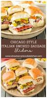 Val From Pams Patio Kitchen by Chicago Style Italian Smoked Sausage Sliders Strawberry Blondie