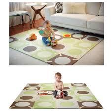 hop playspot foam floor tiles playmat green brown