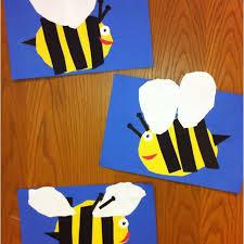 Bees Kindergarten Art Cut And Paste