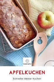 schneller kleiner apfelkuchen simplylovelychaos kuchen