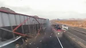 Video Released Of Deadly Semi-truck Crash In Nevada That Killed 2 ... 4 Injured After Semitruck And Greyhound Bus Crash Near Kettleman Best Truck Crashes 2015 2016 Driver Leaps To Safety As Train Into Inside Edition Tesla Owner Says Autopilot Saved Him From A Nearmiss With Video Semitruck Loses Control Crashes Gas Station In Cajon Caught On Video Driver Capes Semi Before Its Hit By Fatigue Contributing Factor Mondays Video Drowsy Driving Leads Fatal Truck At Nevada 3 Due Inattention Snarls Blaine Crossing Route 17 Crash Clip Shows Wreck It Happened Shocking Footage Of Minor Turned Major The 401