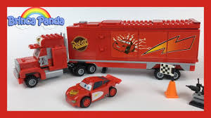 100 Lightning Mcqueen Truck LEGO Cars 2 McQueen Mack Disney