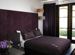Purple Velvet Brings An Air Of Luxury To The Small Bedroom Design Amy Noel