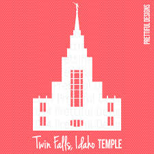 Halloween City Twin Falls by Twin Falls Idaho Temple Lds Mormon Clip Art Png Eps Svg