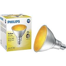 philips non dimmable 13 5w yellow bug light 40皸 par38 led bulb
