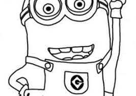 Minions Coloring Pages Phil Coloring4free