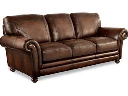 Bernhardt Foster Leather Sofa by La Z Boy William Traditional Sofa With Loose Pillow Back Morris