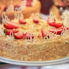 blätterteig torte mit schmand und milchmädchen