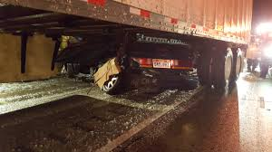 100 Fedex Truck Accident 1 Dead In Crash Involving FedEx Semi In Box Elder County Gephardt
