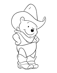 Winnie The Pooh Coloring Pages Car Cartoon Cartoons Color With Character