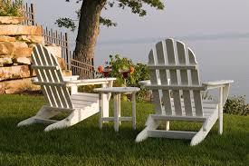 Polywood Adirondack Chairs Folding by Amazon Com Polywood Rst18wh Round 18