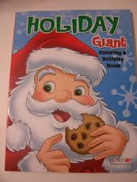 Buy Holiday Giant Coloring And Activity Book Christmas Edition Santa Eating Cookie 150 Pages In Cheap Price On Alibaba
