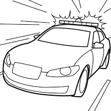 Free Cop Car Coloring Page To Print Out Pages Disney Pixar Cars
