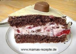 kleine schoko erdbeer torte