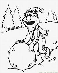 Free Elmo Coloring Pages To Print
