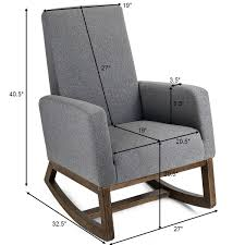 Mid Century Retro Modern Fabric Upholstered Rocking Chair Relax Rocker Grey Best Home Furnishings Xpress Steffen 1018 Mid Century Coaster Midcentury Modern Beige Rocking Chair Del Monte Traditional Blue Fabric Push Back Recliner Retro Upholstered Relax Rocker Grey Carson Carrington Honningsvag Midcentury Light Bridgeport Swivel Glider Yashiya J2funk Rockerswivel Choice Products Tufted Polyester Lounge W 360degree Details About Wrought Studio Raya