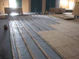 How To Install Engineered Wood Over Concrete Howtos DIY Plywood Subfloor In Sub Floor