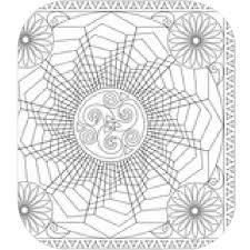 Coloriage Mandala Triskel A Co
